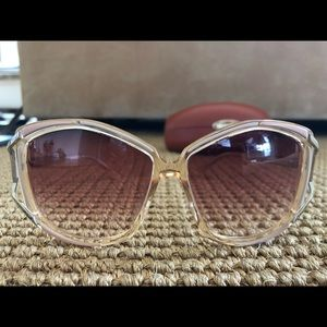 New Authentic Missoni Sunglasses MI694-01 ivory